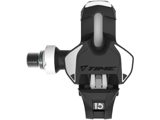 Time Xpro 15 Titan Carbon Pedalen, black/white